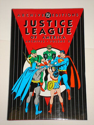 Dc Archive Editions Justice League Of America 8 Jla Hardback Gn 1563899779
