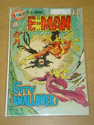 E-Man #5 Vg (4.0) Charlton Comics November 1974