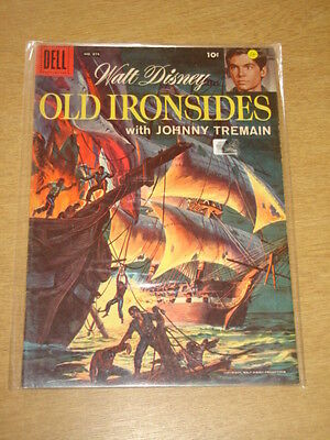 Four Color #874 Fn- (5.5) Dell Comics Old Ironsides January 1958