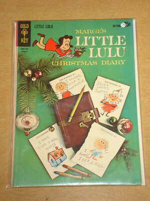 Little Lulu #166 F/vf (7.0) Dell Comics Christmas Special January 1963