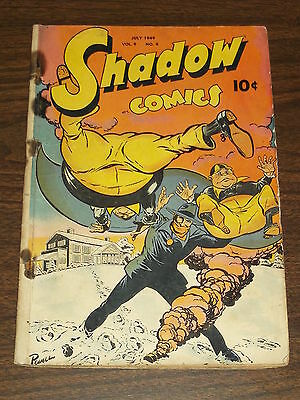 Shadow Comics Vol 9 #4 G- (1.5) Street & Smith July 1949