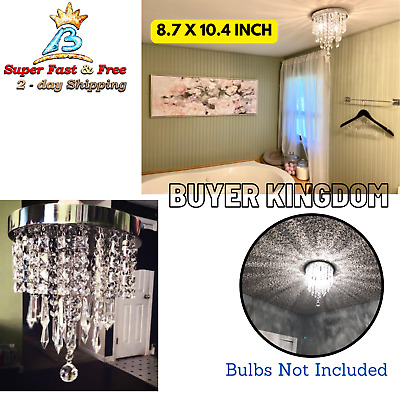 Crystal Vintage Chandelier Lighting Ceiling Fixture Lamp Modern Pendant Light