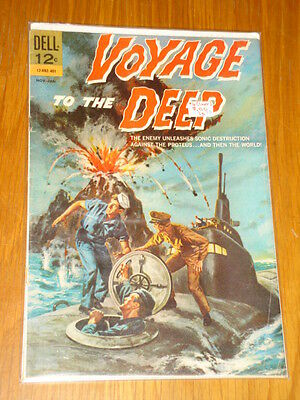 Voyage To The Deep #4 Vg (4.0) Dell Comics Final Issue January 1964 Cover A