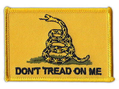 "Motorcycle Jacket Patch - 2nd Amendment, Bear Arms, Gadsden Flag - 3.25"" x 2.25"""