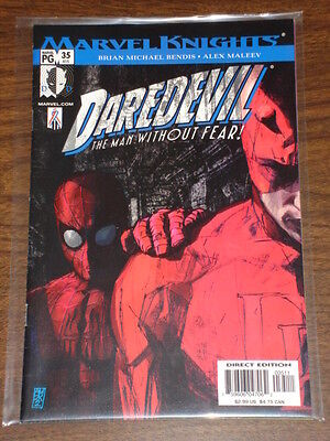 Daredevil Man Without Fear #35 Vol2 Marvel September 2002