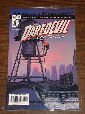 Daredevil Man Without Fear #40 Vol2 Marvel February 2003