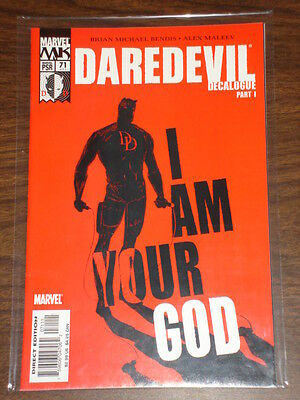 Daredevil Man Without Fear #71 Vol2 Marvel May 2005