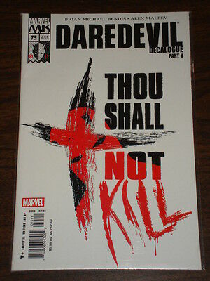 Daredevil Man Without Fear #75 Vol2 Marvel September 2005