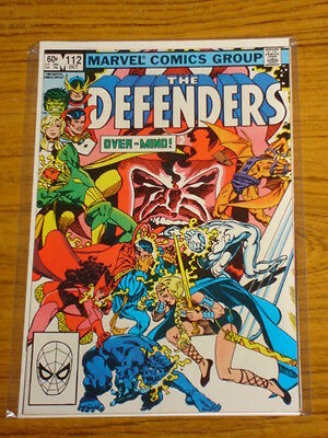 Defenders #112 Vol1 Marvel Comics Silver Surfer Apps October 1982