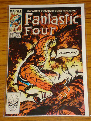 Fantastic Four #263 Vol1 Marvel Comics Byrne Art Scarce February 1984
