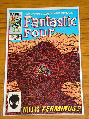 Fantastic Four #269 Vol1 Marvel Comics Byrne Art August 1984