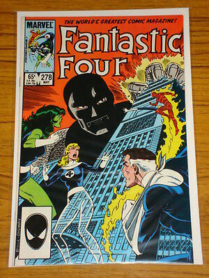 Fantastic Four #278 Vol1 Marvel Comic Byrne Art Dr Doom May 1985