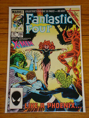 Fantastic Four #286 Vol1 Marvel Ds X-Men Intro X-Factor January 1986