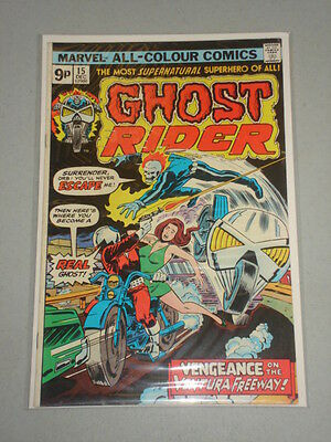 Ghost Rider #15 Vol 1 Marvel Comics December 1975