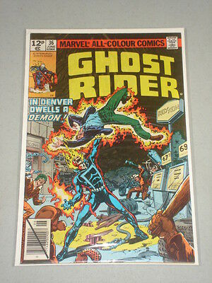 Ghost Rider #36 Vol 1 Marvel Comics June 1979
