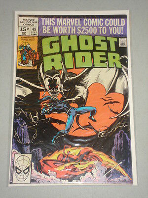 Ghost Rider #48 Vol 1 Marvel Comics September 1980