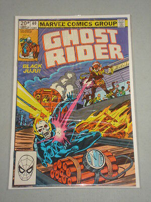 Ghost Rider #60 Vol 1 Marvel Comics September 1981