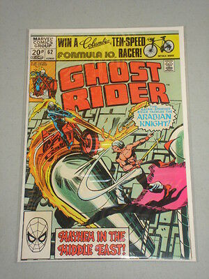 Ghost Rider #62 Vol 1 Marvel Comics November 1981