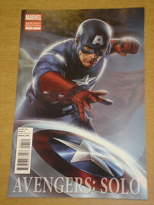 Avengers Solo #1 Variant Edition 2011 Marvel Captain America