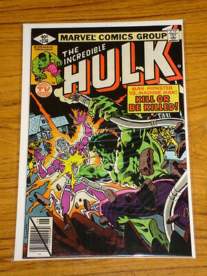 Incredible Hulk #236 Vol1 Marvel Comics Machine Man June 1979