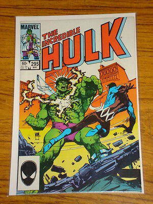 Incredible Hulk #295 Vol1 Marvel Comics May 1984