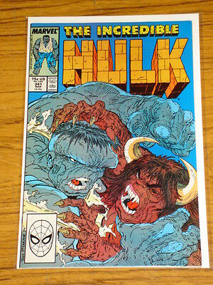 Incredible Hulk #341 Vol1 Marvel Comics Mcfarlane March 1988