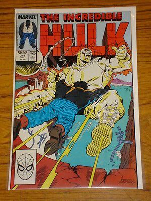 Incredible Hulk #348 Vol1 Marvel Comics October 1988