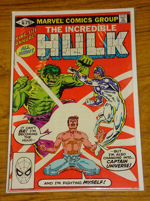 Incredible Hulk Annual #10 Vol1 Mrv 1St Capt Universe 1981
