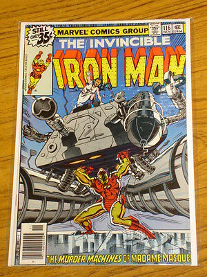 Ironman #116 Vol1 Marvel Comics Romita Jnr Art Scarce November 1978