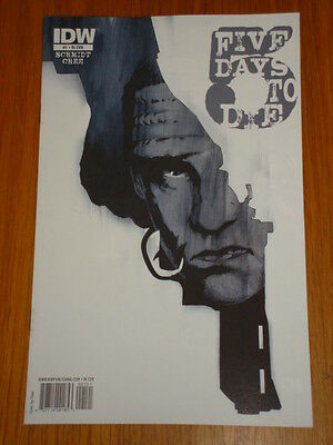 Five 5 Days To Die #1 Ri Cover 2010 Idw Chee