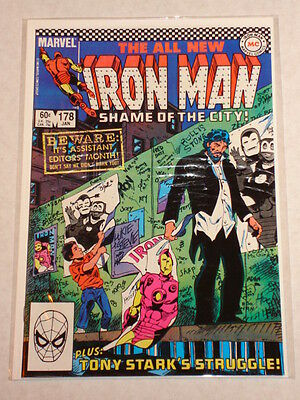 Ironman #178 Vol1 Marvel Comics January 1984