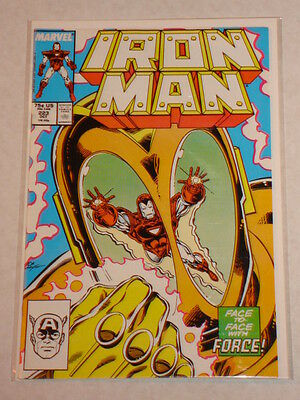 Ironman #223 Vol1 Marvel Comics Build Upto Armour Wars October 1987