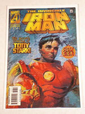 Ironman #326 Vol1 Marvel Comics March 1996