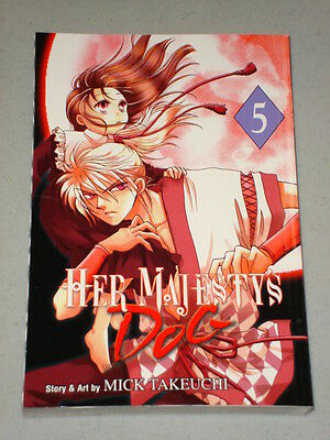 Her Majesty's Dog Vol 5 Graphic Novel Anime Manga Takeuchi