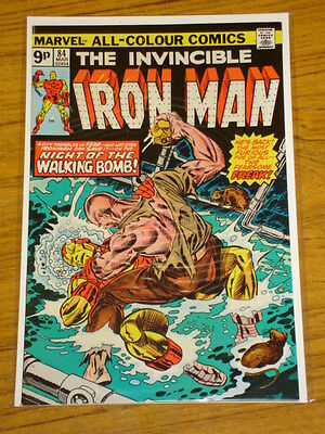 Ironman #84 Vol1 Marvel Comics Kirby Cover March 1976