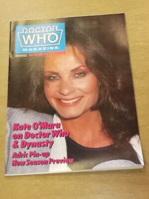 Doctor Who #128 1987 Sep British Weekly Monthly Magazine Dr Who Dalek Cybermen