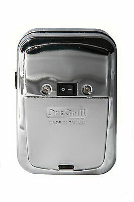 OneGrill Chrome Cordless Rotisserie Motor 4PM04
