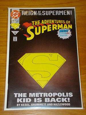 Superman #501 Vol 1 Cut Out S Cvr Edition Near Mint June 1993
