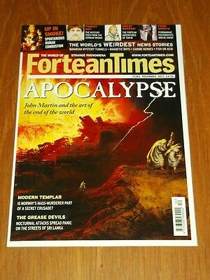 Fortean Times #281 November 2011 Apocalypse Tin Tin Uk Magazine