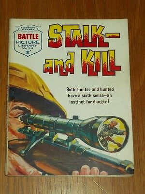 Battle Picture Library #94 Stalk And Kill Fleetway British Comic War