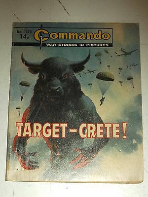 Commando #1478 War Stories Pocket Picture Library British Weekly Comic