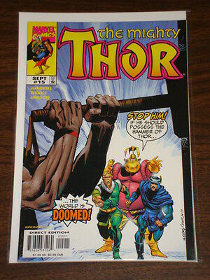 Thor #15 Vol2 The Mighty Marvel Comics September 1999