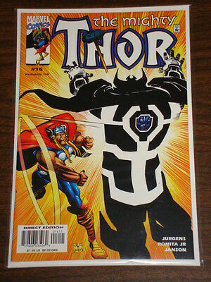 Thor #16 Vol2 The Mighty Marvel Comics October 1999