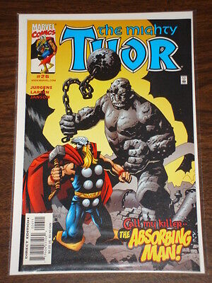 Thor #26 Vol2 The Mighty Marvel Comics August 2000