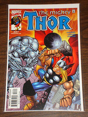 Thor #27 Vol2 The Mighty Marvel Comics September 2000