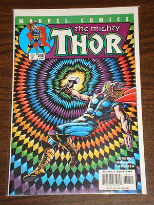 Thor #38 Vol2 The Mighty Marvel Comics August 2001