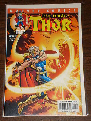 Thor #40 Vol2 The Mighty Marvel Comics October 2001