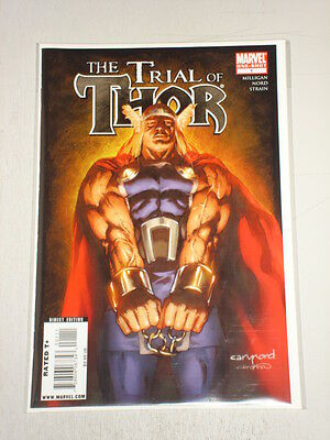 Thor Trial Of One-Shot Marvel Comics August 2009