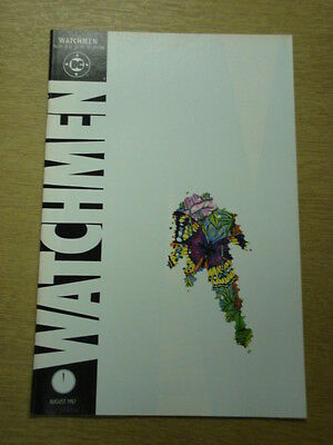 Watchmen #11 Dc Comics Alan Moore August 1987 X