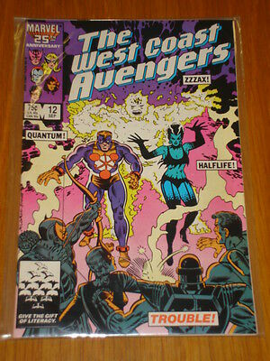 West Coast Avengers #12 Vol 1 Marvel Comic September 1986